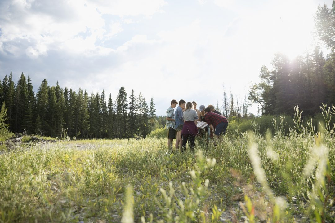 student science STEM field trip