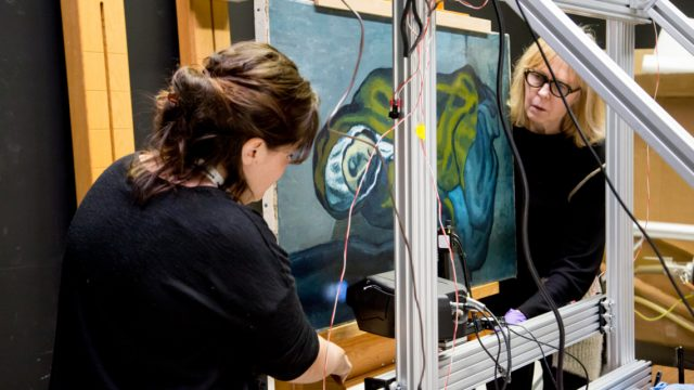 Science takes a closer look at Picasso's art