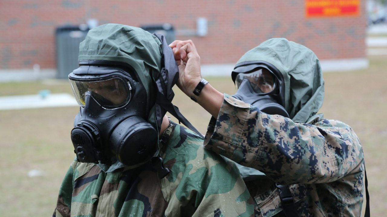 chemical weapons nerve gas