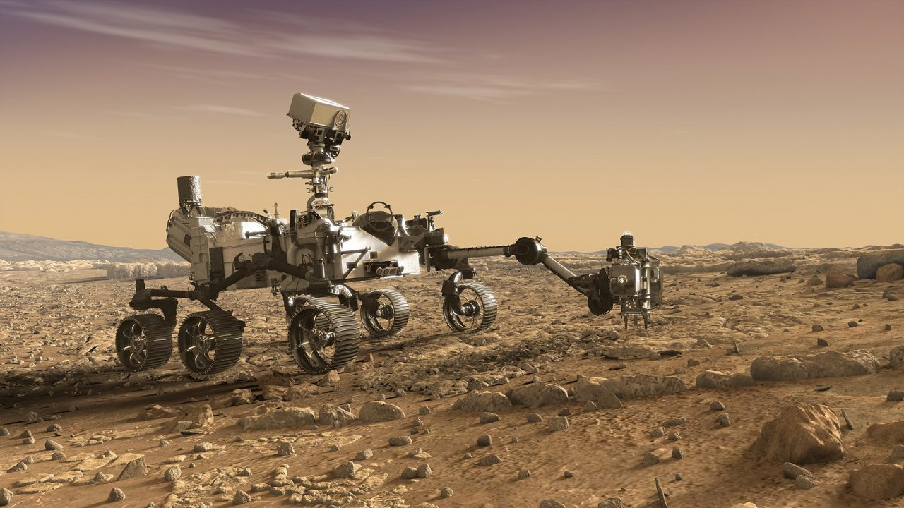 Mars 2020 Rover expedition NASA JPL