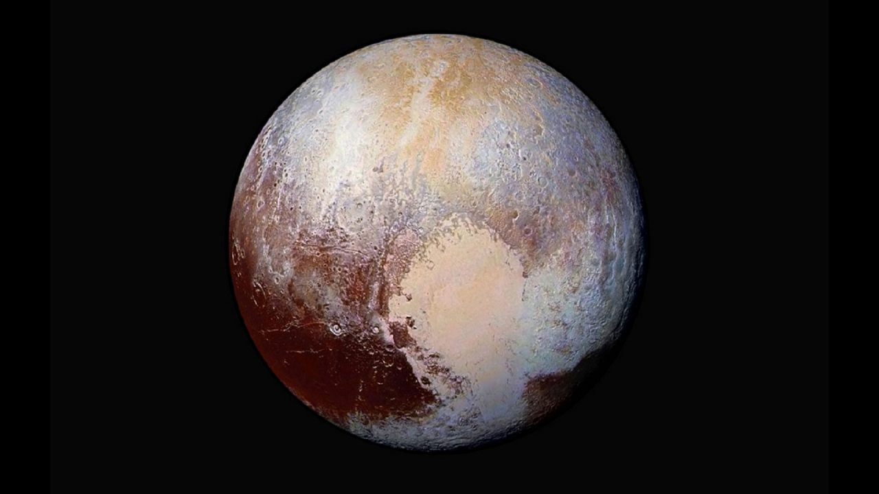 Pluto astronomy University of Tasmania NASA