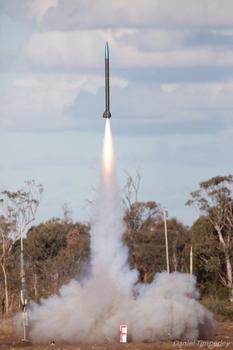 rocket competition Australia ANU space
