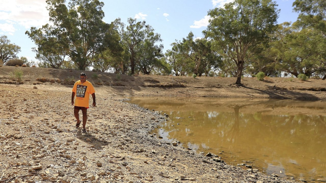 Darling river drought Australia election water policies royal comission