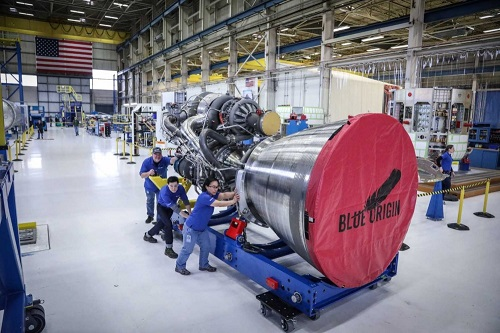 blue origin BE-4 methane rocket engine