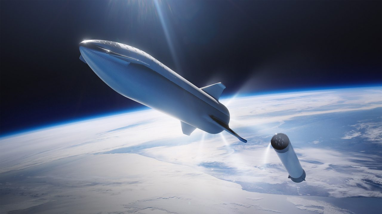 methane rocket SpaceX BFR Starship