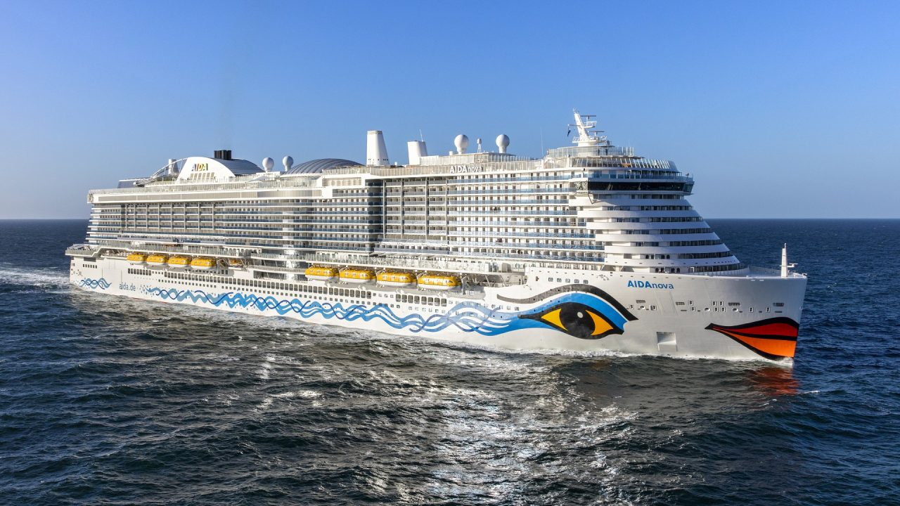 natural gas cruise ship
