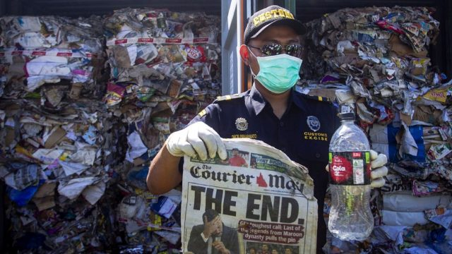 Indonesia has turned back our waste - it's time to clean up our act