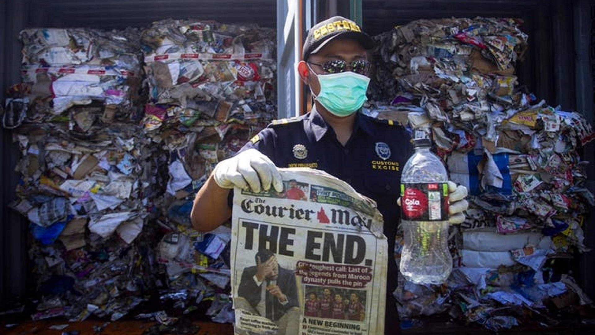 Indonesia recycling Australia waste
