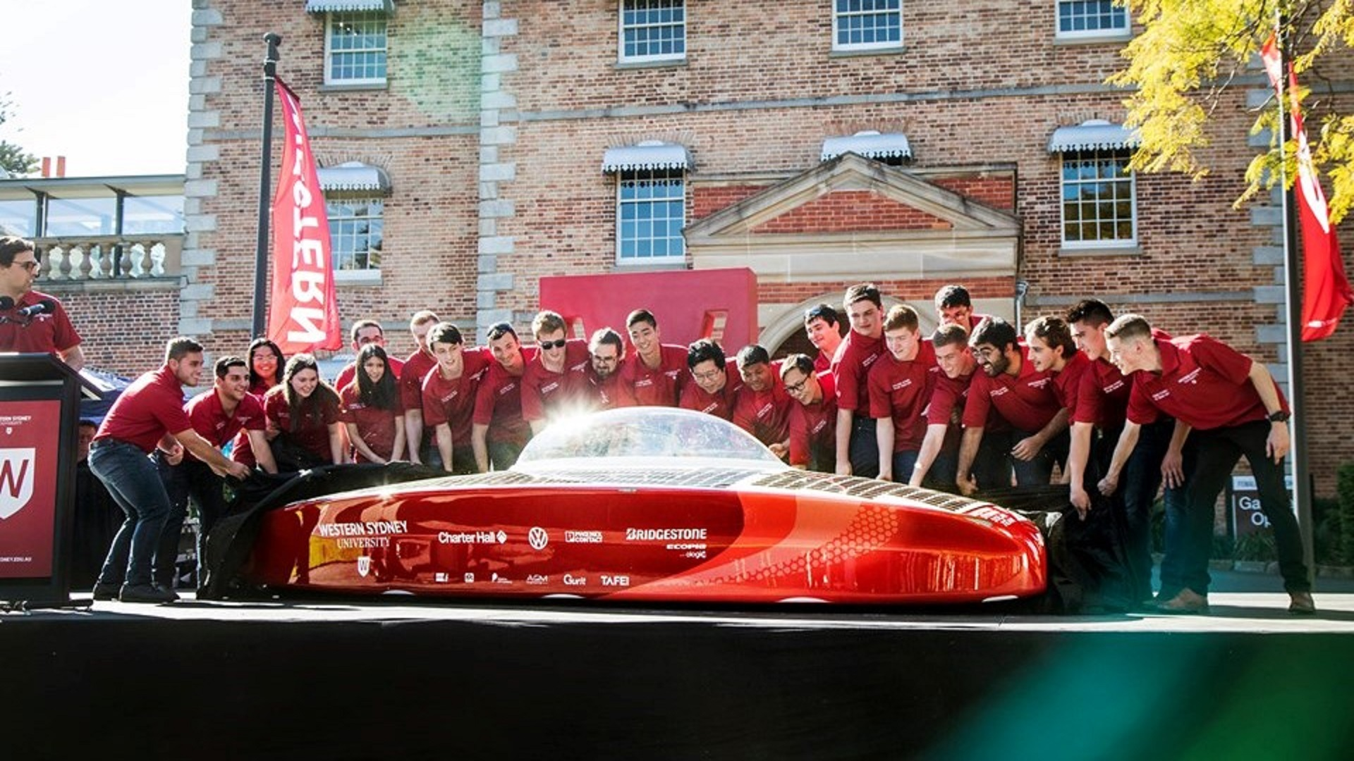 unlimited 3.0 solar car World Solar Challenge