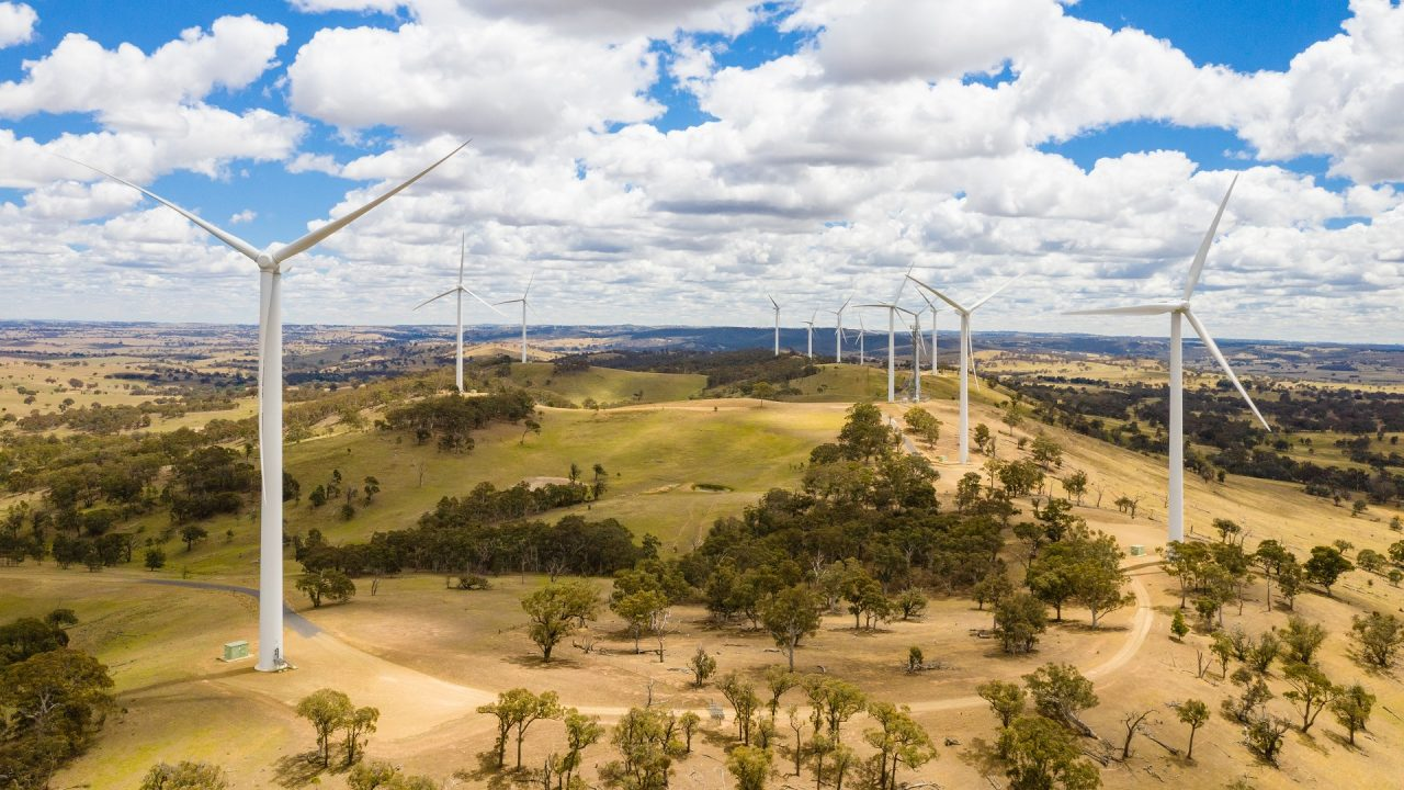 windfarm windmills renewable energy