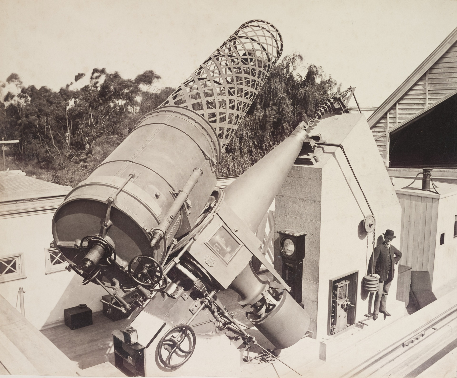 Great Melbourne Telescope Observatory astronomy history