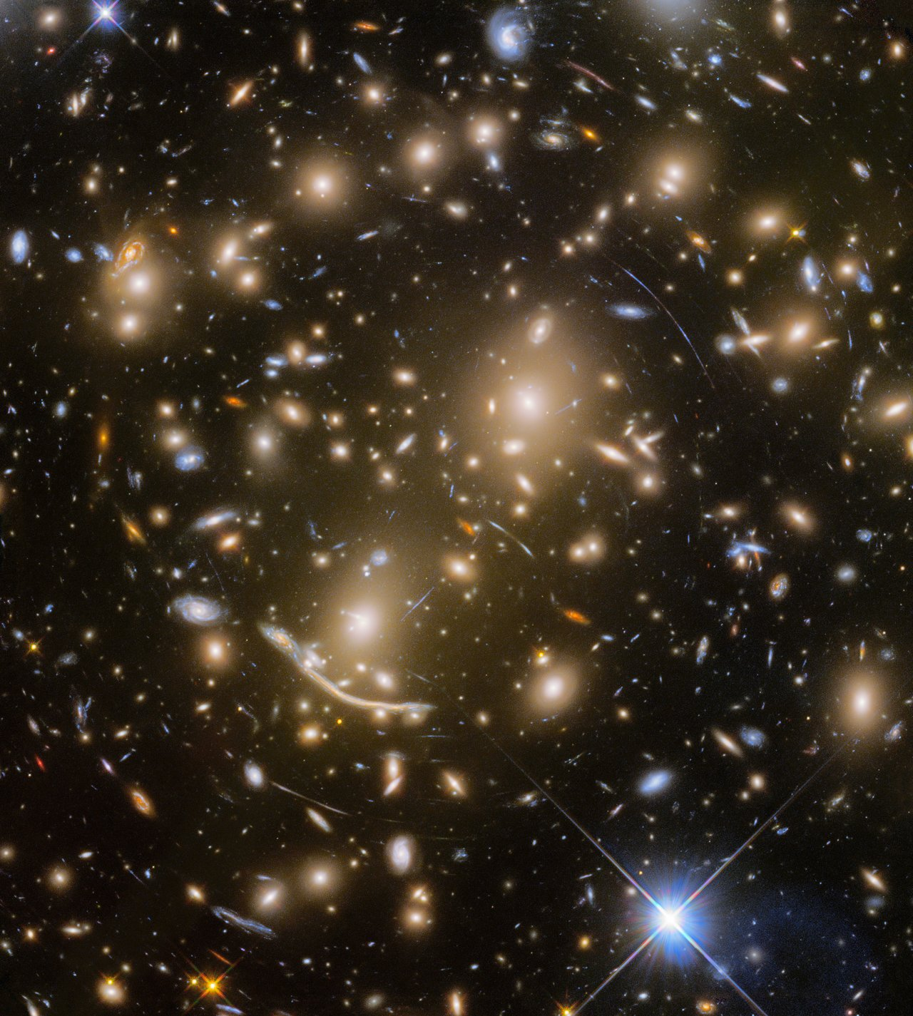 Hubble space telescope Abell370