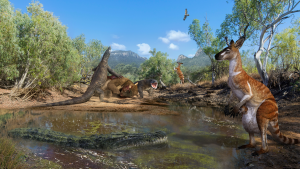 Ancient Australians lived with three-tonne marsupials and lizards as long as cars