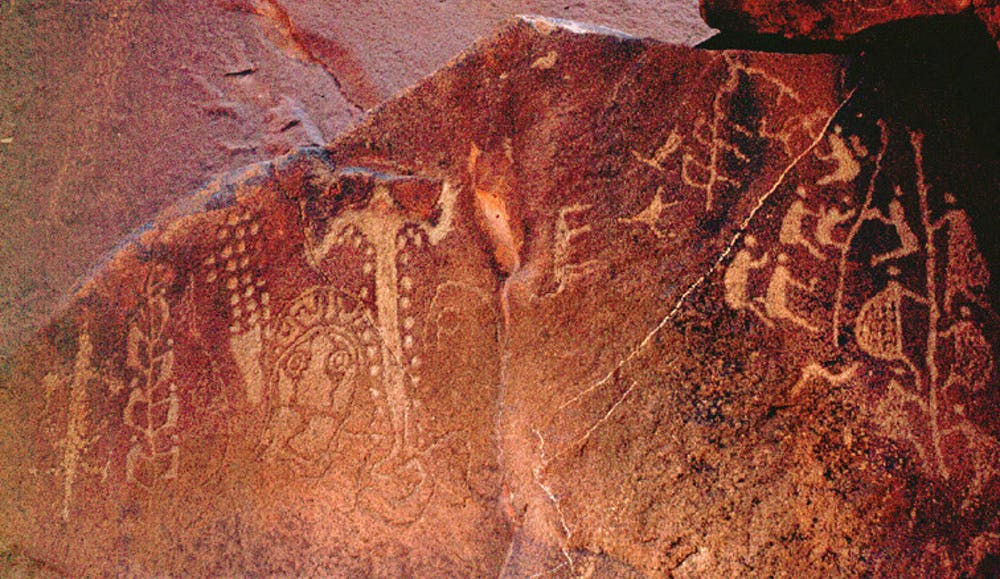 Aboriginal site_indigenous rock art_cave painting
