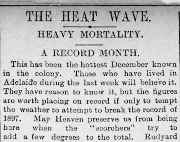 weather extremes_heatwaves_newspaper article