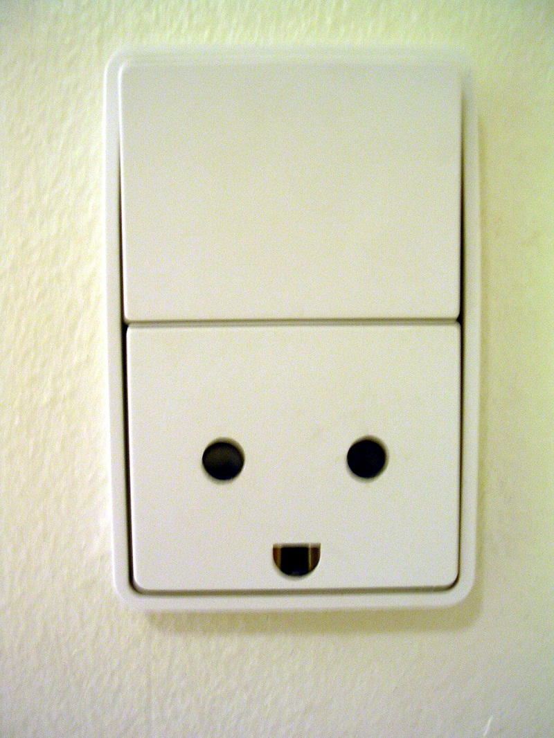 Danish power point looks like it's smiling