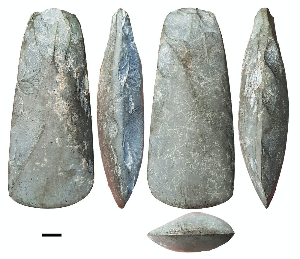 the stone tools found on Obi island