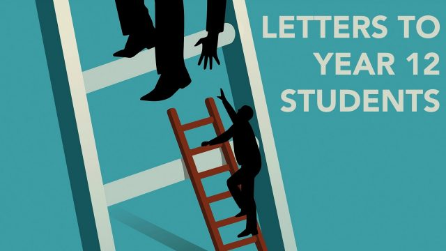Letters to Year 12 students